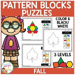 Pattern Block Puzzles: Fall ~Digital Download~