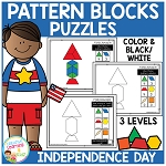 Pattern Block Puzzles: Independence Day ~Digital Download~