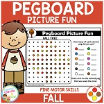 Pegboard Picture Fun: Fall ~Digital Download~
