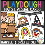 Playdough Mats & Visual Cards: Fairy Tale - Hansel and Gretel ~Digital Download~