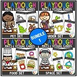 Playdough Mats & Visual Cards: Bundle 1~Digital Download~