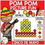 Pom Pom Picture Fun - Cinco De Mayo ~Digital Download~