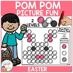 Pom Pom Picture Fun - Easter ~Digital Download~