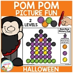 Pom Pom Picture Fun - Halloween ~Digital Download~