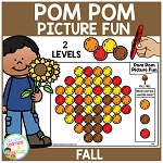 Pom Pom Picture Fun - Fall ~Digital Download~
