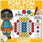 Pom Pom Picture Fun - Summer ~Digital Download~