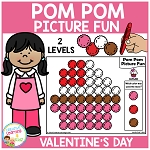 Pom Pom Picture Fun - Valentine's Day ~Digital Download~