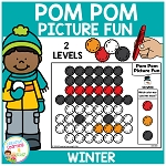 Pom Pom Picture Fun - Winter ~Digital Download~