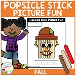 Popsicle Stick Picture Fun - Fall ~Digital Download~