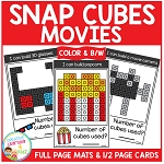 Snap Cubes Activity - Movies ~Digital Download~