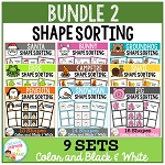 Shape Sorting Mats: Bundle 2 ~Digital Download~