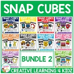 Snap Cubes Activity - Bundle 2 ~Digital Download~