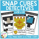 Snap Cubes Activity - Detective ~Digital Download~