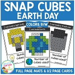 Snap Cubes Activity - Earth Day ~Digital Download~