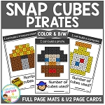 Snap Cubes Activity - Pirates ~Digital Download~