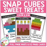 Snap Cubes Activity - Sweet Treats ~Digital Download~