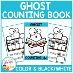 Ten Frame Counting Book: Halloween Ghost ~Digital Download~