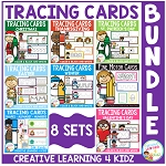 Tracing Cards Fine Motor Skills Bundle ~Digital Download~