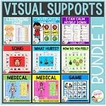 Visual Supports Bundle 1 Special Education Autism ~Digital Download~