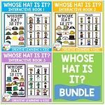 Whose Hat Is It? Interactive Book Bundle Community Helpers ~Digital Download~