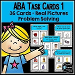 ABA Task Cards 1 Problem Solving ~Digital Download~