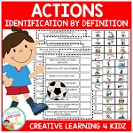 Action Identification by Definition Boards ~Digital Download~