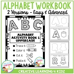 Fine Motor Skills Alphabet Book 1 ~Digital Download~