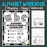 Fine Motor Skills Alphabet Book 2 ~Digital Download~