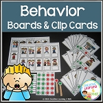 Behavior Clip Cards & Boards ~Digital Download~