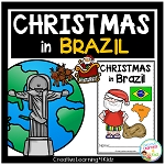 Christmas Around the World: Brazil Book ~Digital Download~