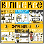 Bumble Bee Shape Bundle ~Digital Download~