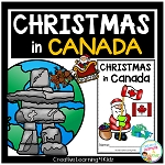 Christmas Around the World: Canada Book ~Digital Download~