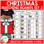 Christmas Matching Board Bundle 2 ~Digital Download~