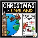 Christmas Around the World:England Book ~Digital Download~