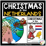 Christmas Around the World: Netherlands Book ~Digital Download~