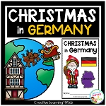 Christmas Around the World:Germany Book ~Digital Download~