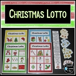 Christmas Lotto Game ~Digital Download~