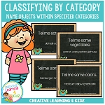 Classifying Objects by Category Cards ~Digital Download~