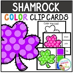 Color Clip Cards: St. Patrick's Day Shamrocks ~Digital Download~