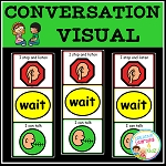 Conversation Visual  ~Digital Download~