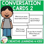 Conversation Cards 2 ~Digital Download~