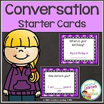 Conversation Starter Cards ~Digital Download~