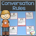 Conversation Rule Cards ~Digital Download~