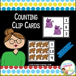Counting Clip Cards ~Digital Download~