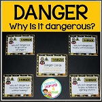 Safety Cards Why is it Dangerous Question cards ~Digital Download~