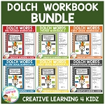 Dolch Words Workbook BUNDLE ~Digital Download~