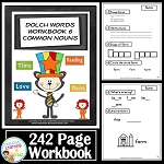 Dolch Words Workbook 6 Common Nouns ~Digital Download~