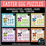 Easter Egg Puzzles Bundle ~Digital Download~