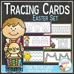 Tracing Cards Easter Set Fine Motor Skills ~Digital Download~