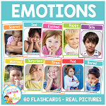 Emotions & Feelings Flashcards ~Digital Download~